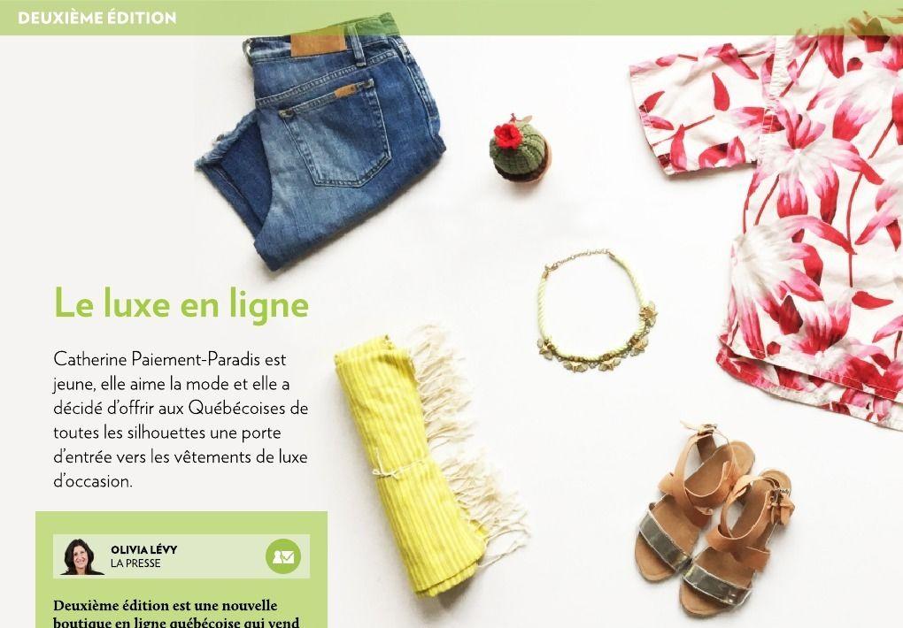 Le luxe en ligne - La Presse+
