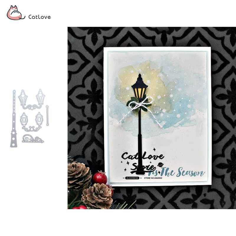 Garden Metal Cutting Dies DIY Scrapbooking Gift Card Stencils Embossing Craft
