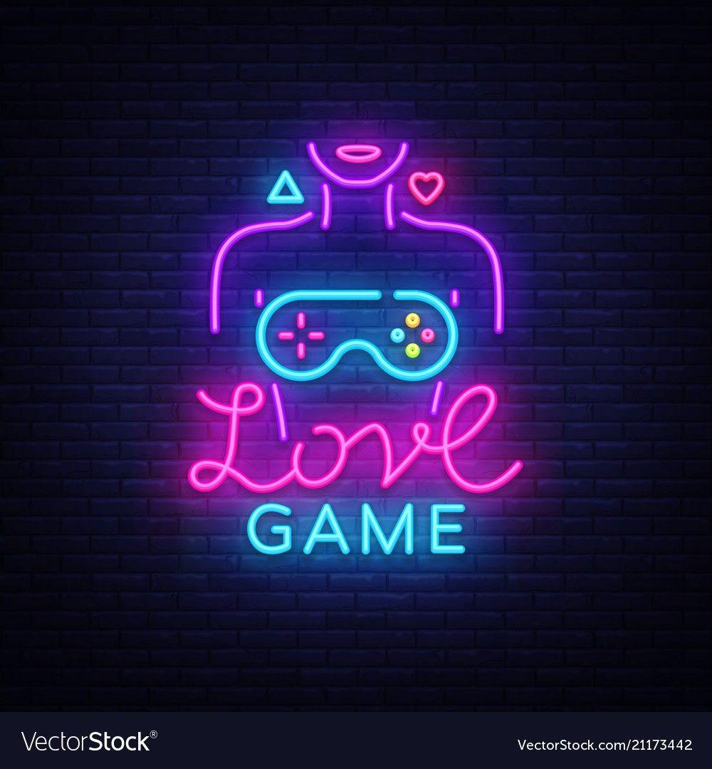 Movie camera neon sign vector image on Ideias instagram