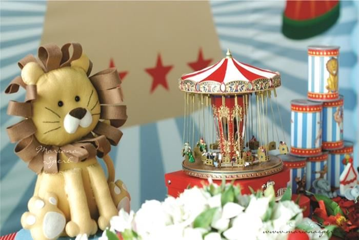 Circus Themed Decorations Ideas Part - 50: Vintage Circus Party With Such Cute Ideas Via Karau0027s Party Ideas |  KarasPartyIdeas.com #