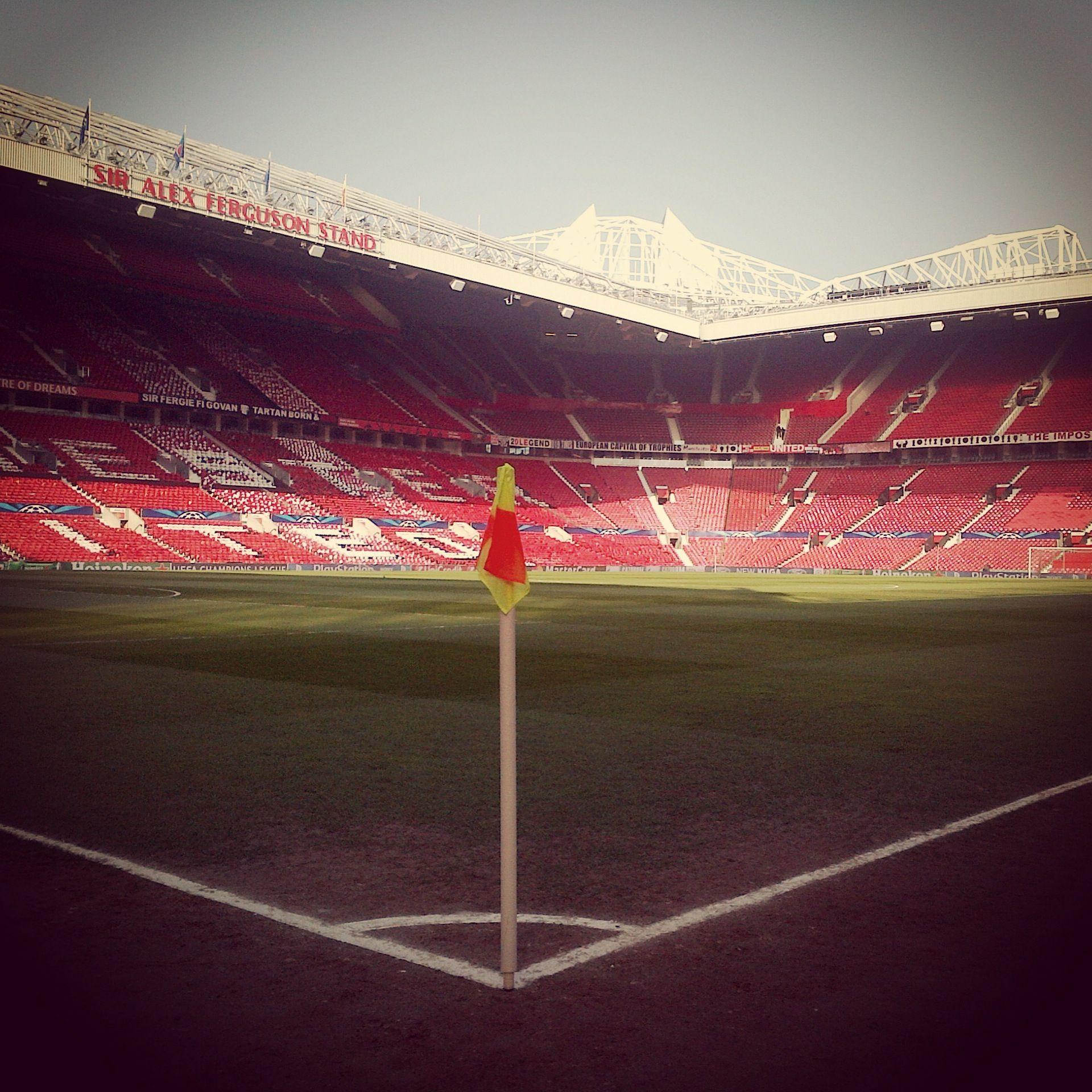 Corner Flag Old Trafford Manchester United Mufc