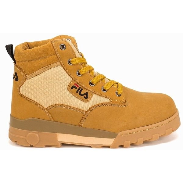 bb34a61dd996 Fila Grunge Mid (£100) ❤ liked on Polyvore featuring shoes ...