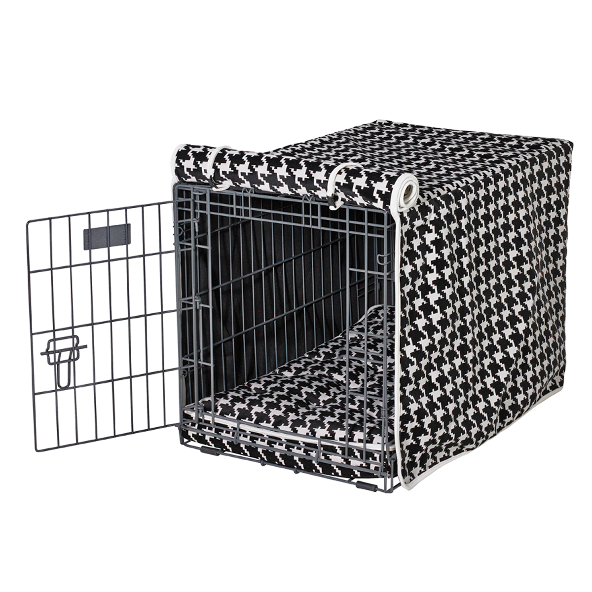 ascot check dog crate cover: Designer Dog Beds | Dog Collars | Dog Crates | Dog Costumes | Tags
