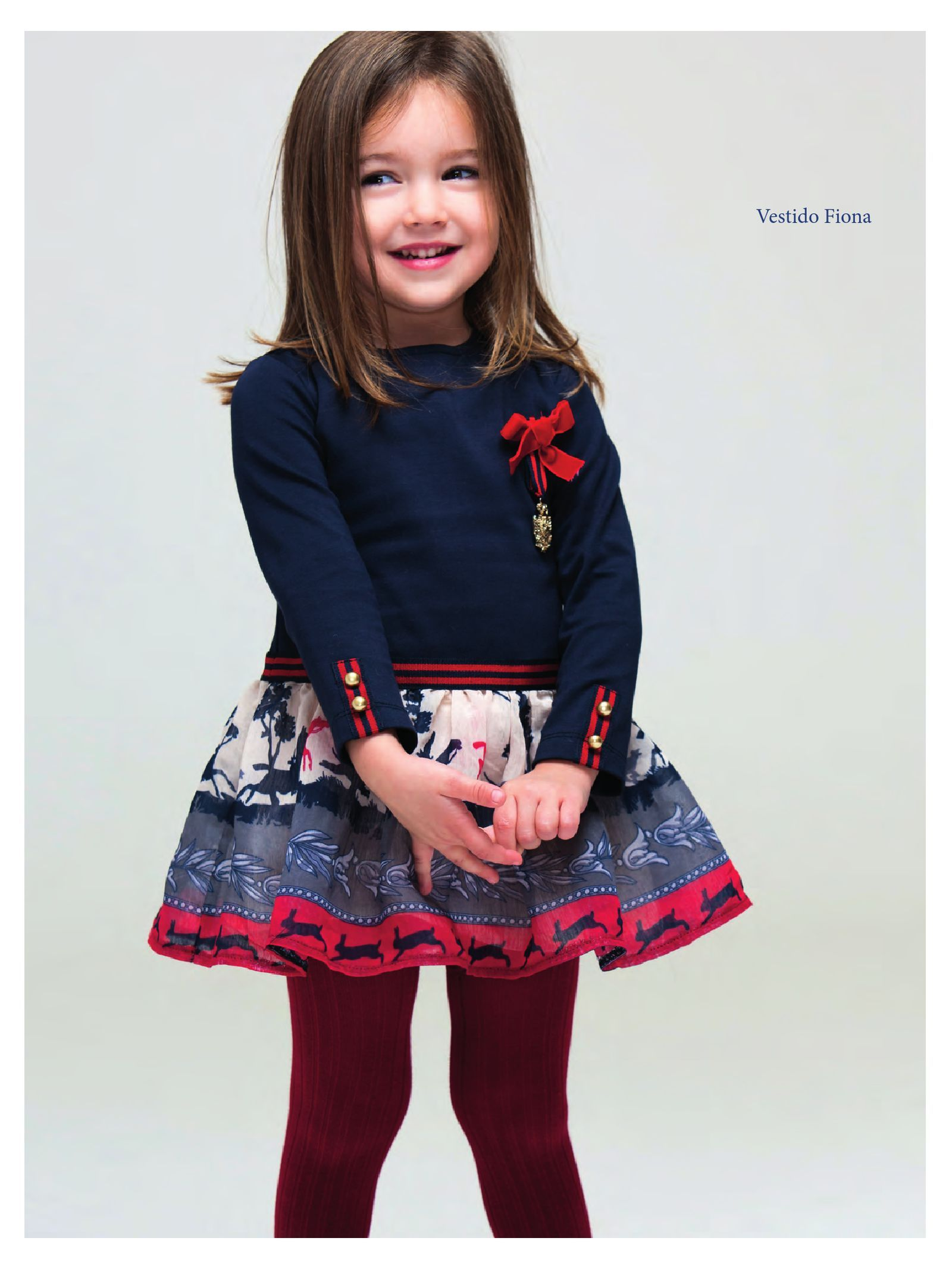 Pan Con Chocolate Fall Winter 2015 Pdf To Flipbook Vestidos