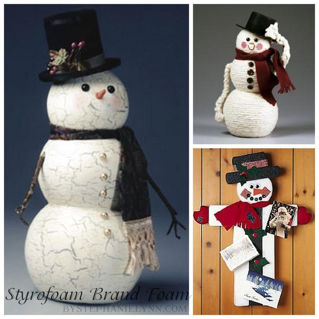 Handmade Holidays Series Featuring STYROFOAM™ Brand Foam