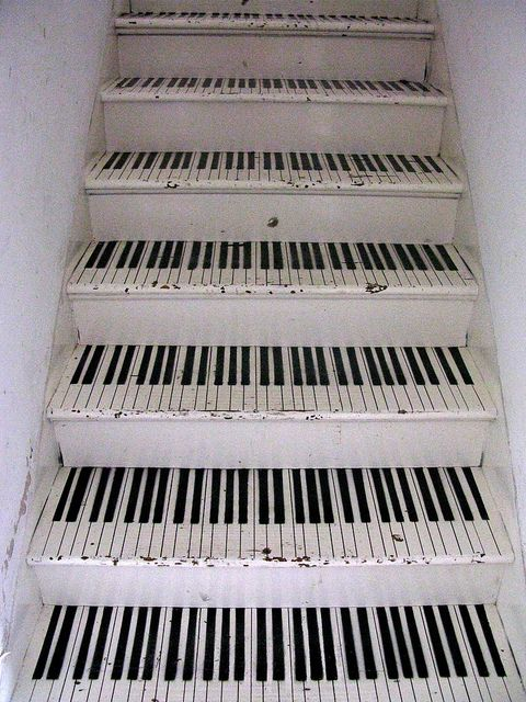Pink Palace Piano Staircase