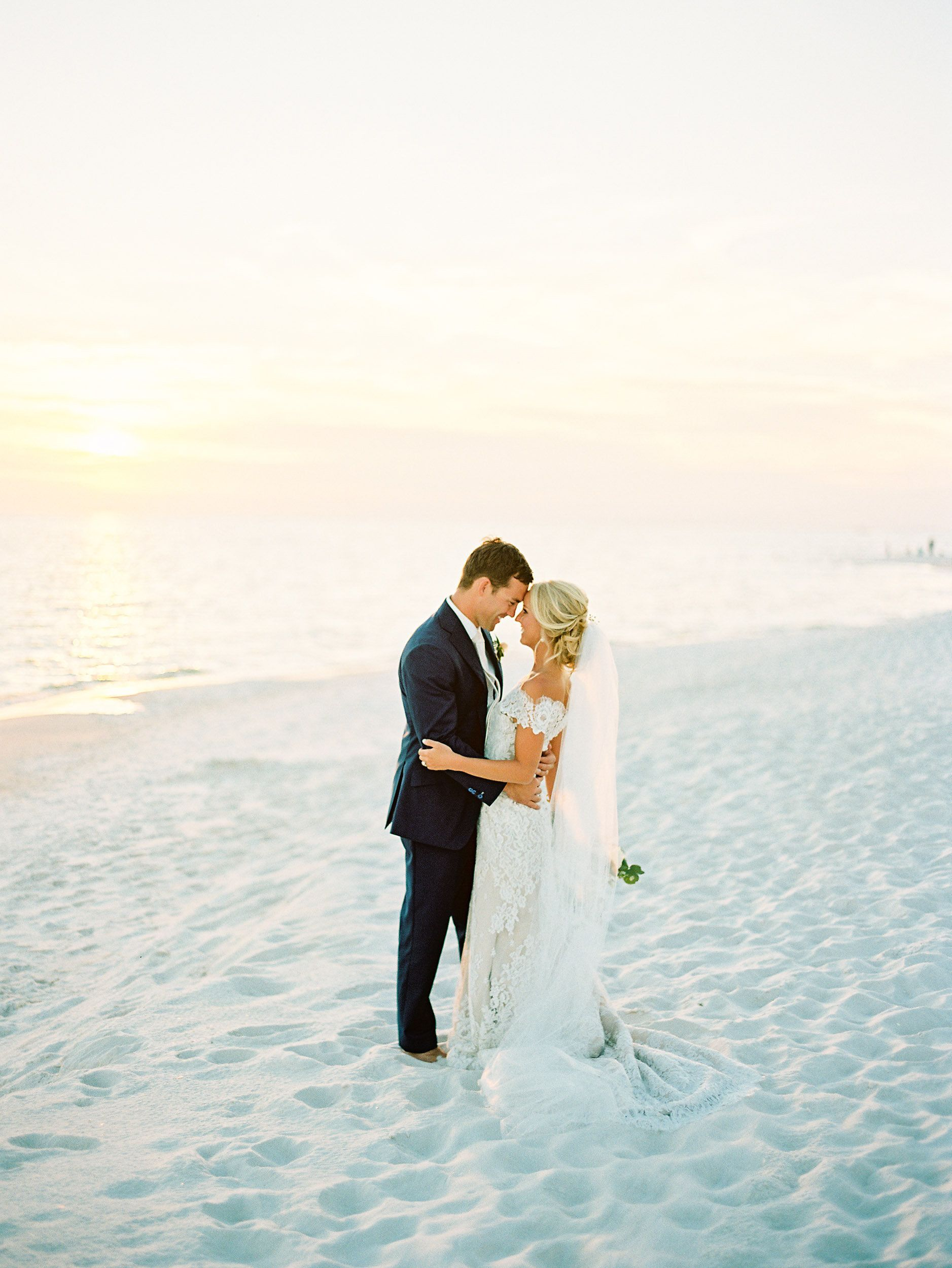 Lush, Organic Wedding in Alys Beach, Florida