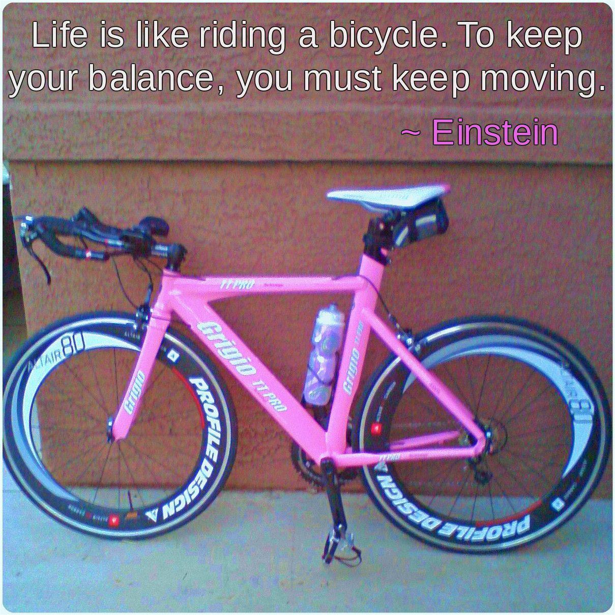 My Pink Time Trial Bike By Grigio Tribike Trial Bike Bicycle