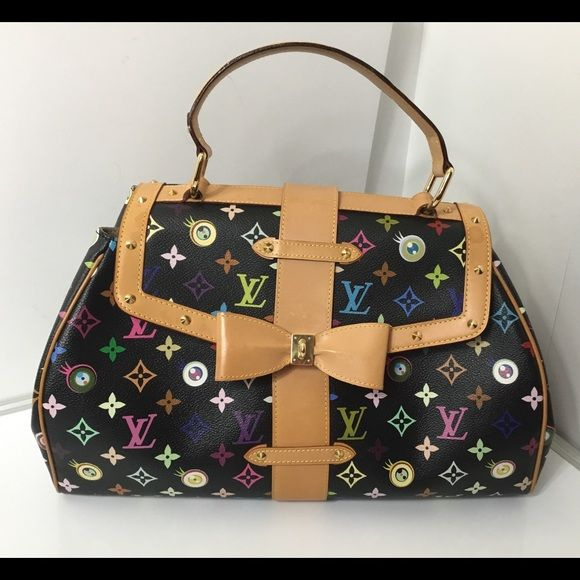 da82adf228a Spotted while shopping on Poshmark  100% Authentic Louis Vuitton Murakami  Sac Retro GM!  poshmark  fashion  shopping  style  Louis Vuitton  Handbags