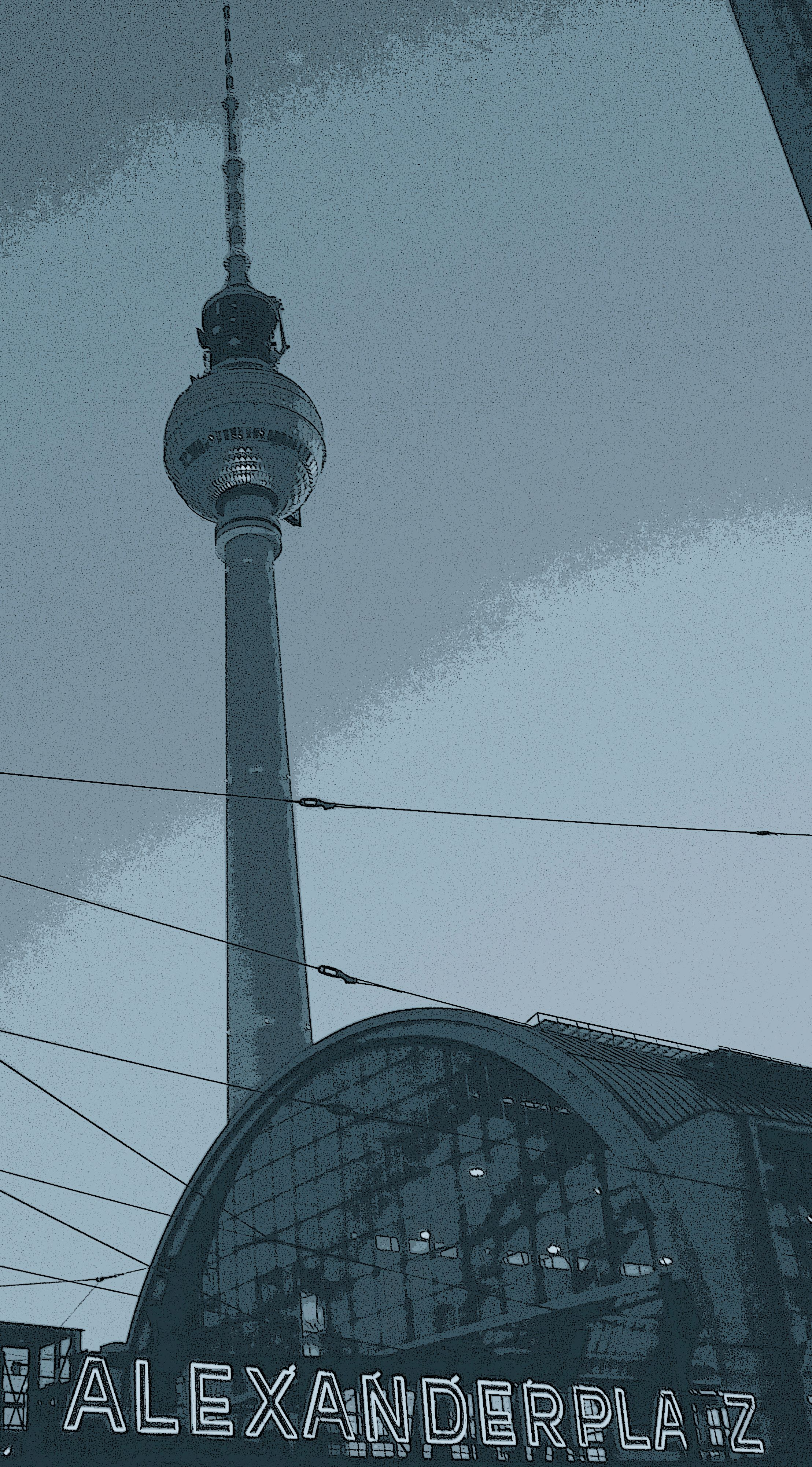 Berlin Alexanderplatz Photo Tower Landmarks