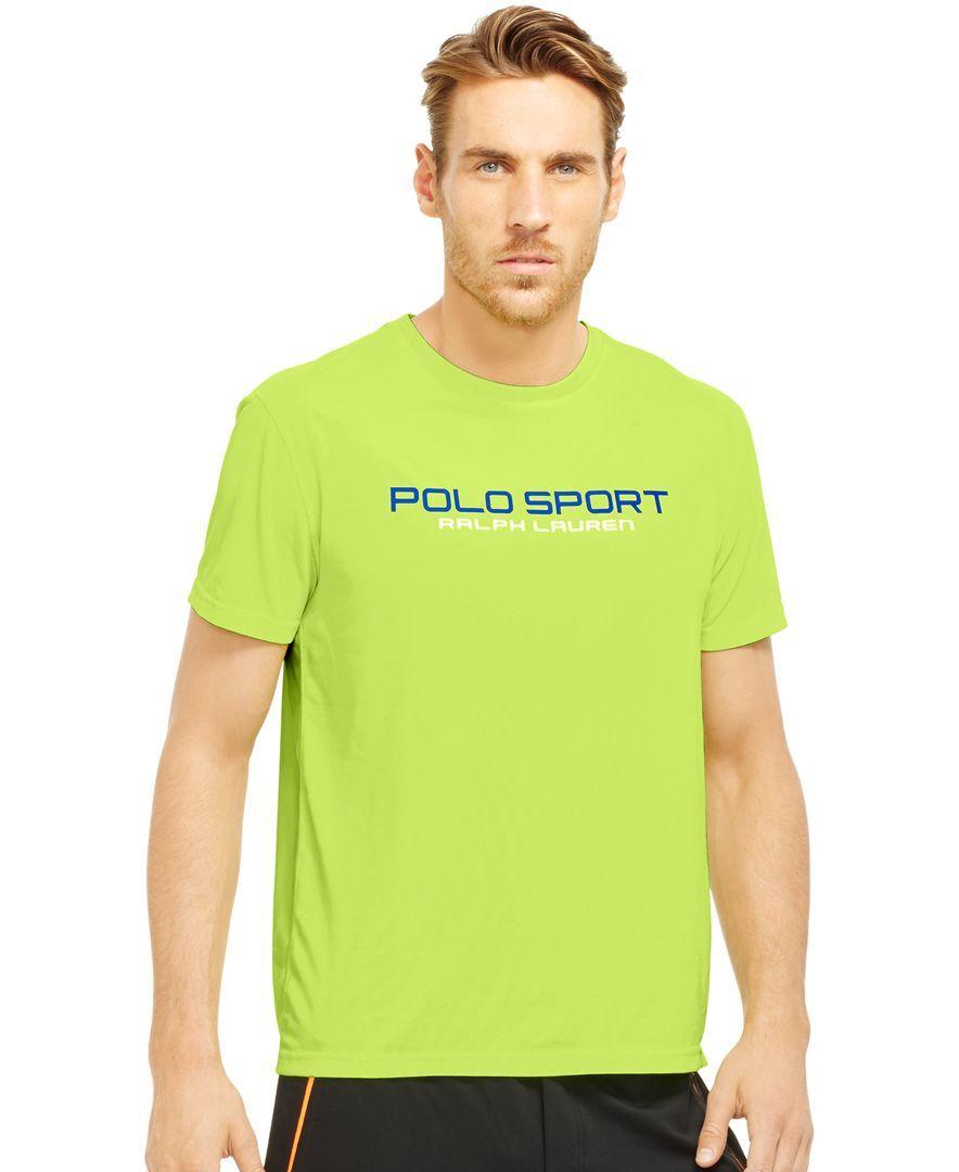 cfa0acf4 Polo Ralph Lauren Performance Jersey T-Shirt | Products | T shirt ...