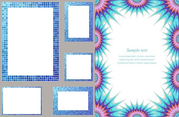 Page Borders Frames Corners Edge Designs For Cards