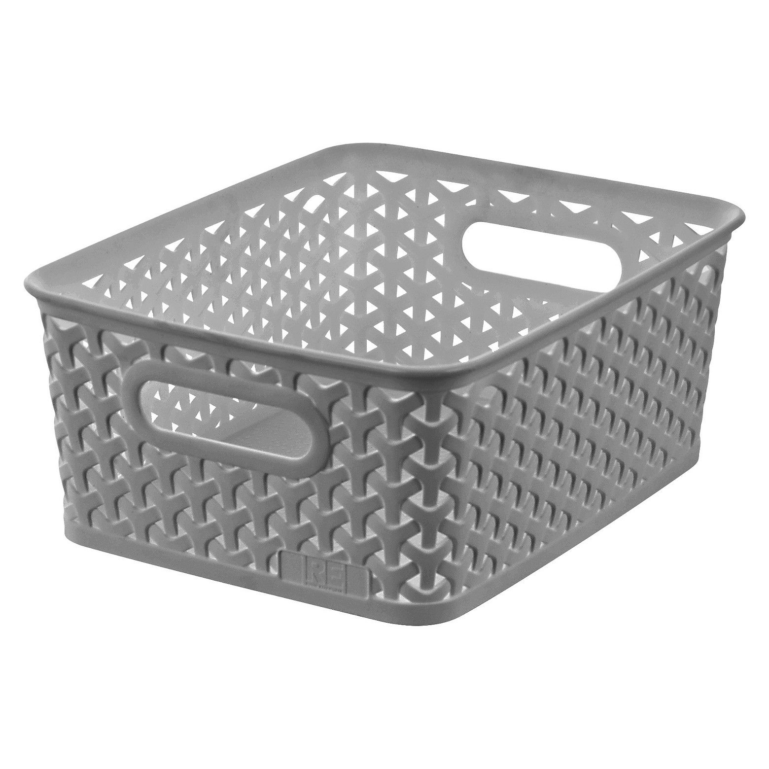 Y Weave Small Storage Bin   White   Room Essentials™. These Woven Plastic  ...