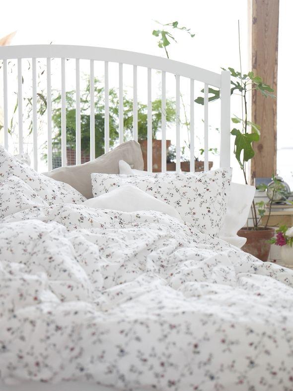 Ikea Commence Le Printemps Bien Repose Wohnkultur Schlafzimmer Blumenbettwasche Bettwasche Schlafzimmer
