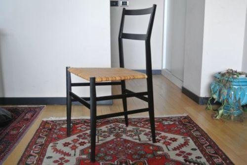 Sedie Antiquariato ~ Set 4 sedie superleggera 699 giò ponti per cassina in arte e