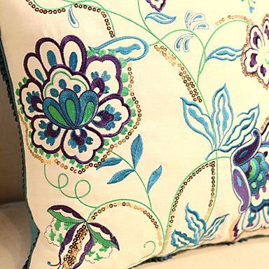 embroidery patterns for pillow covers - Google Search