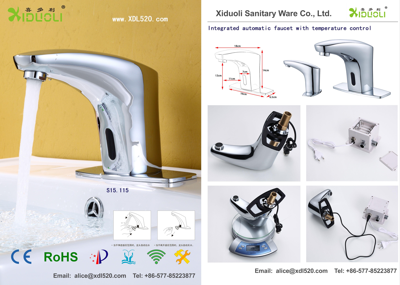 xiduoli faucets Xiduoli Sanitary Manufacturer of automatic sensor ...