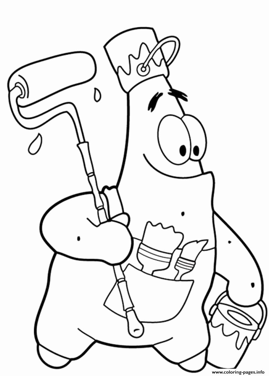 Cartoon Character Coloring Book Awesome Patrick Starfish Coloring Pages Coloring Home In 2020 Spongebob Coloring Spongebob Drawings Cartoon Coloring Pages