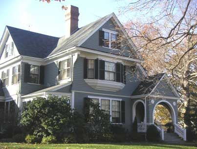 This Queen Anne Style House Has A Complex Cross Gabled