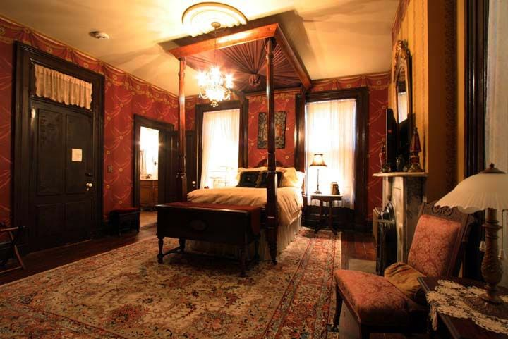 The Julia Room, Victorian Mansion, Galena