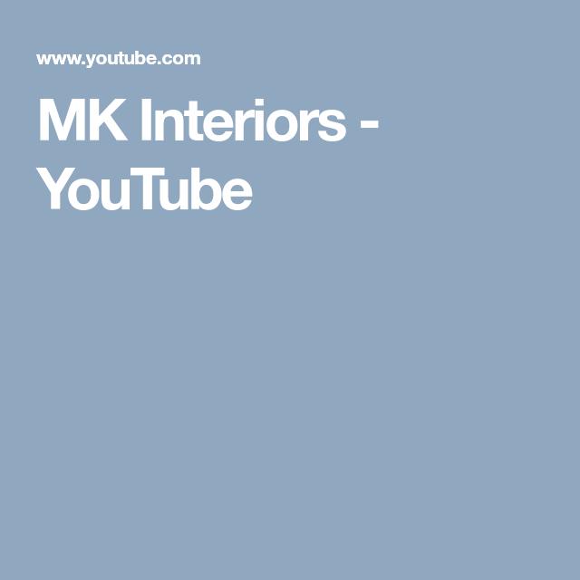 MK Interiors - YouTube Interiors, Youtube, Youtubers, Interior, Decor, Youtube Movies