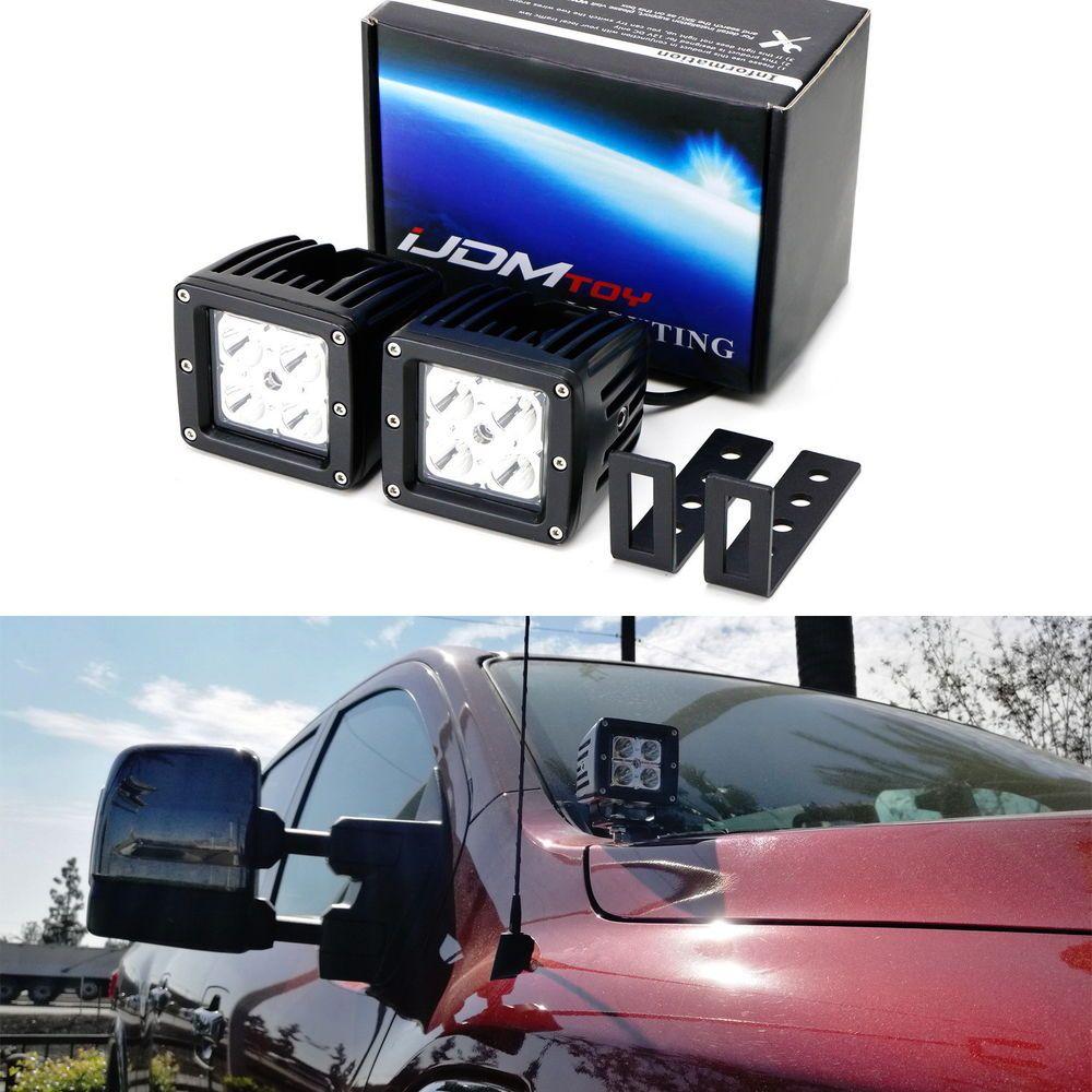 cree led pod lights w a pillar mounting brackets wiring for 2017 nissan titan ebay motors parts accessories car truck parts ebay  [ 1000 x 1000 Pixel ]