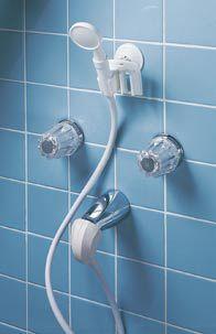 portable shower converts tub spout