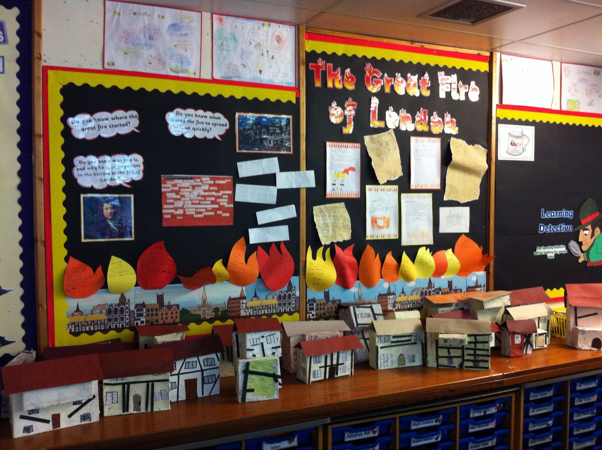 Great Fire Of London Learning Journey