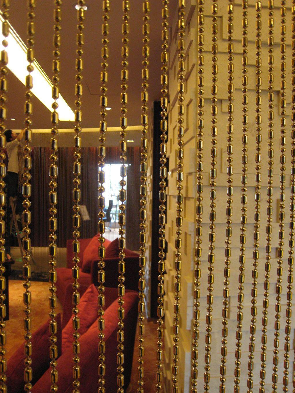 Ball Bar Chain Curtain For Interior Decoration Ball Bar Chain Is A