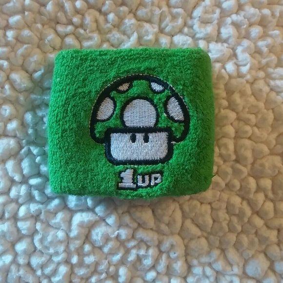 1up Mushroom Wristband Nintendo Old school 1up wristband Other