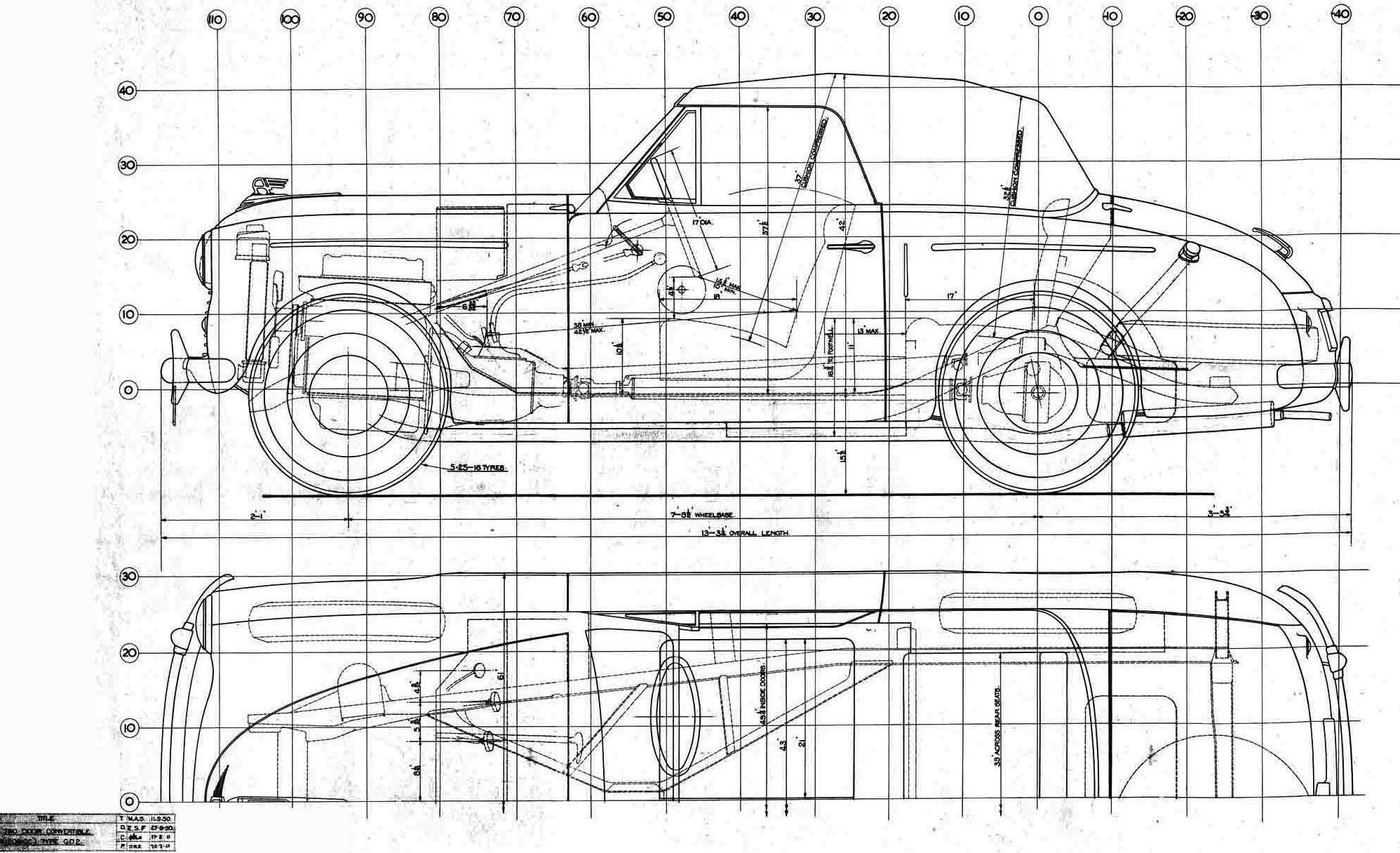 Blueprint Austin A40 Sports Gd2