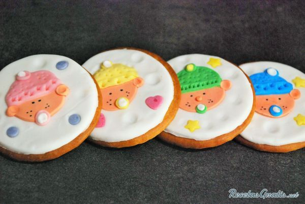 Receta De Galletas Para Baby Shower Con Fondant