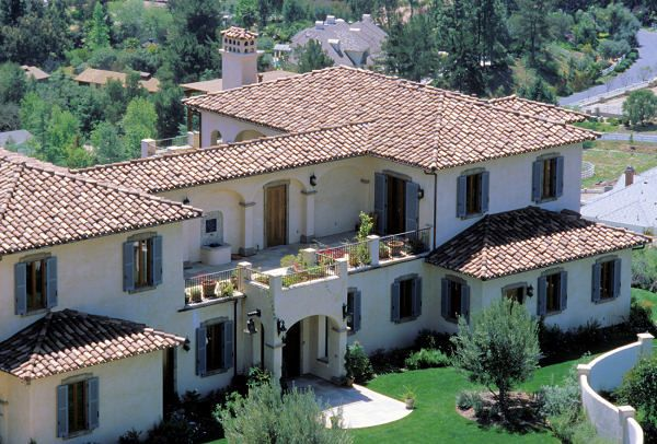 Tuscany Home Plans, Tuscan Style House Design Part 36