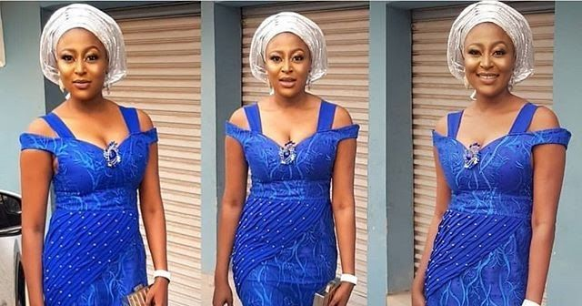 b7783eff8c1af9 Sophisticated Aso Ebi Lace Short Gowns 2018 for Wedding Guests  #aso_ebi_styles #lace_gown_styles #lace_short_gowns
