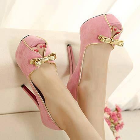 Pink Suede  ♥  #shoes #heels #stilettos