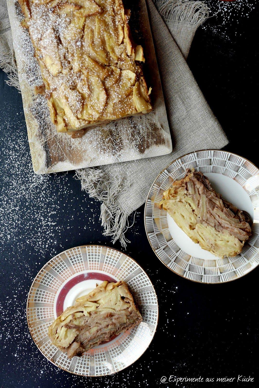 Apfel Schoko Karamell Kuchen Lebensmittel Essen Experimente Aus Meiner Kuche Kalorienarme Rezepte
