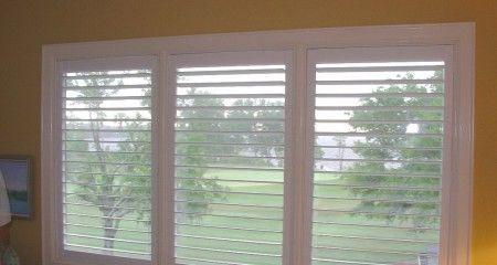 3 Panel Shutter Window W 2 T Posts Interior Shutters