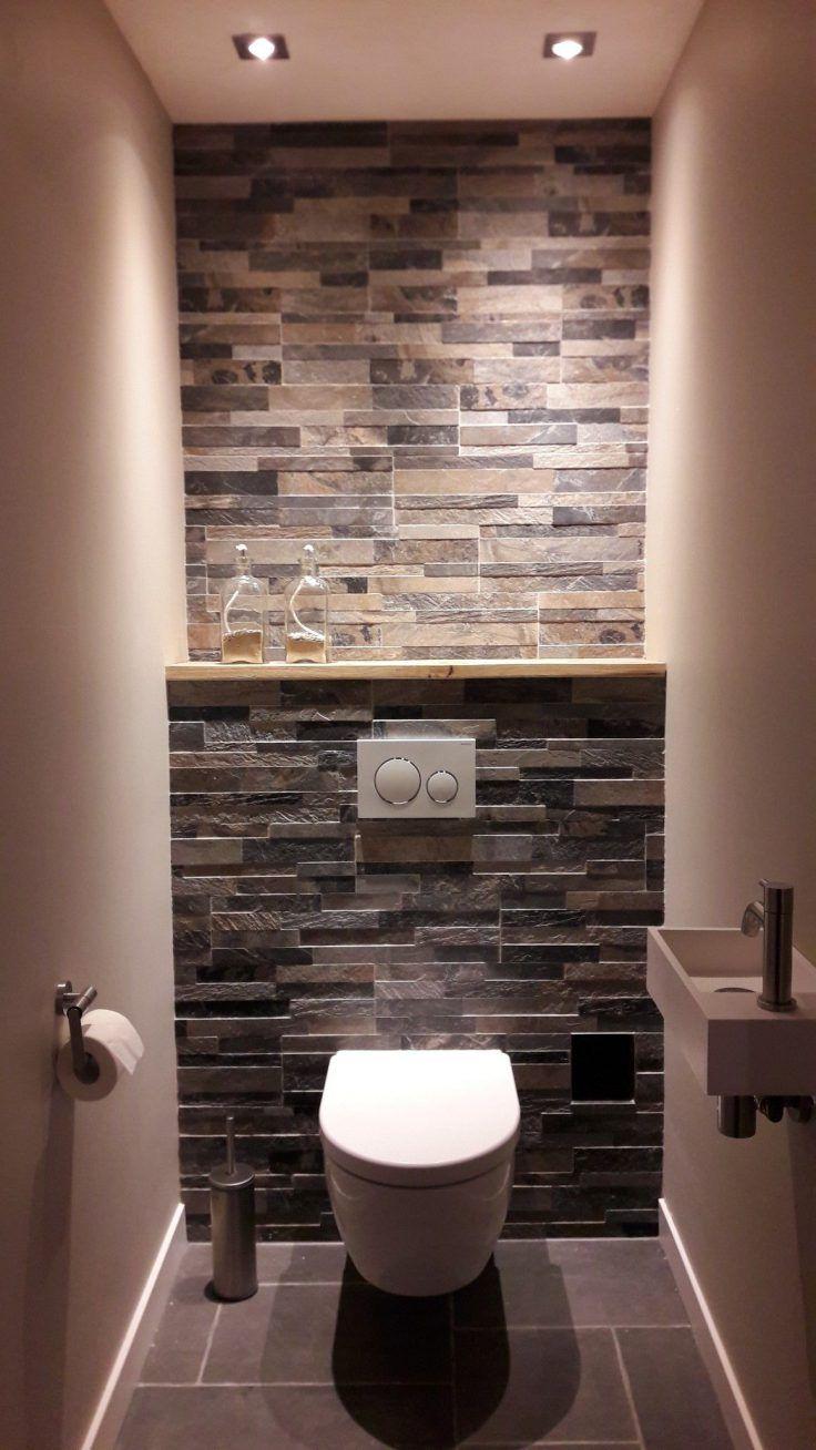 20 idées pour le revêtement mural de ses toilettes #décorationmaison