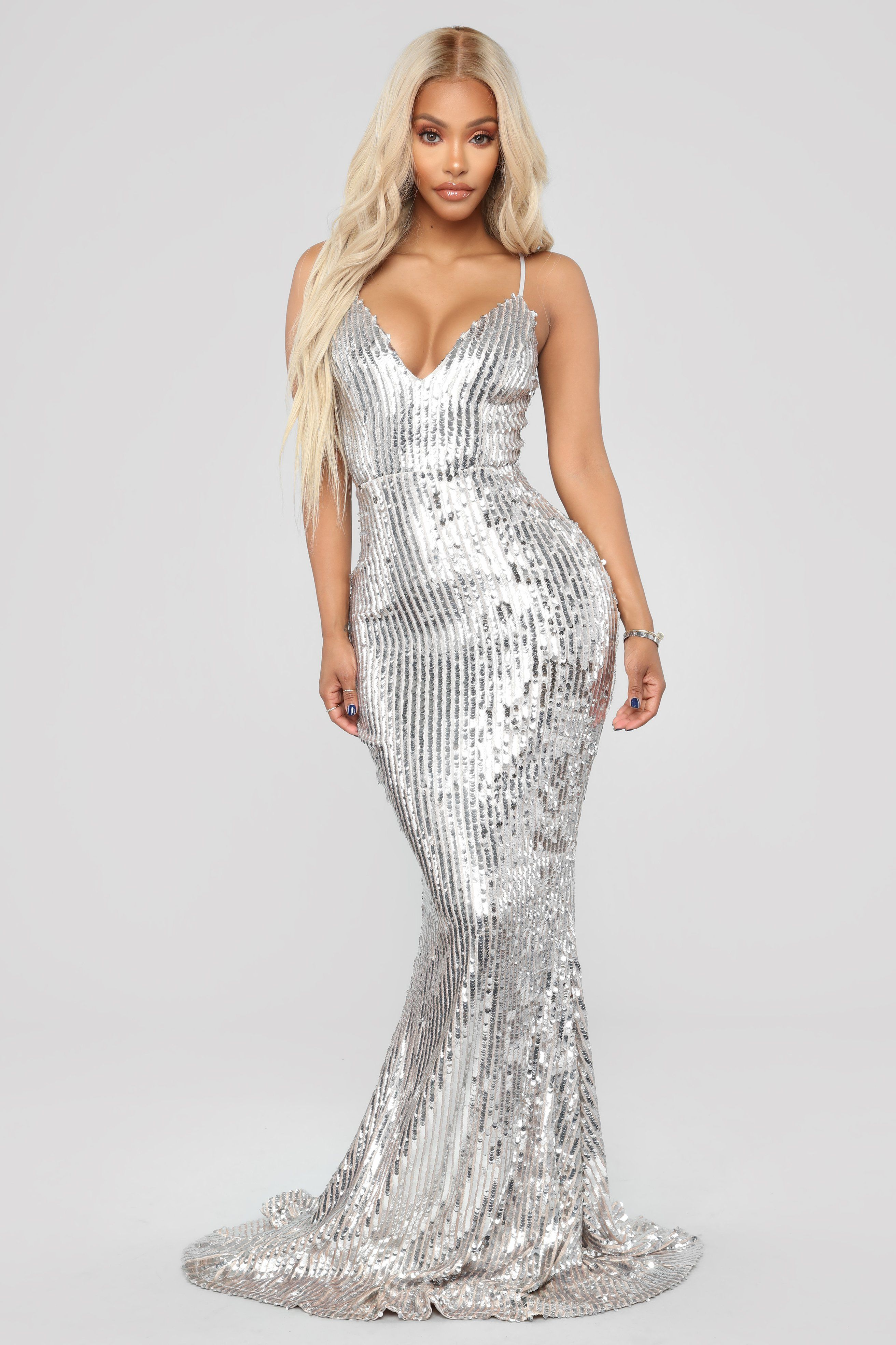 1ef854180f10c Isla Rose Sequin Dress - Blush/Silver in 2019 | Celestial Show ...