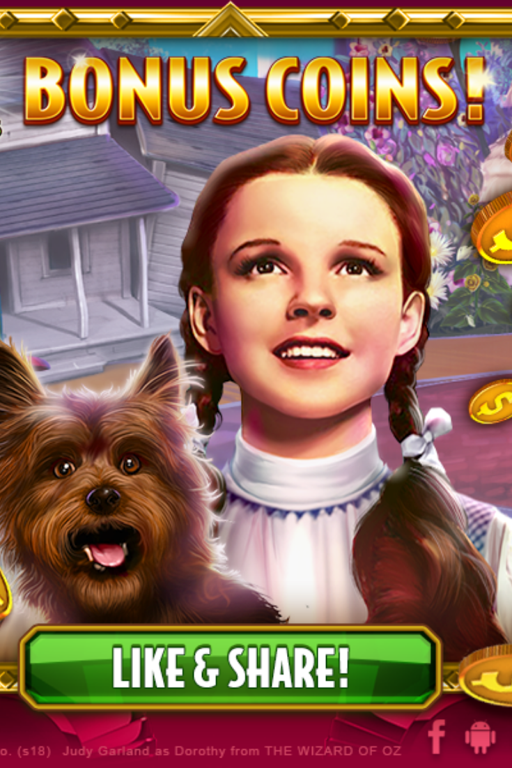 Wizard Of Oz Slots Free Coins Wizard of oz games, Wizard