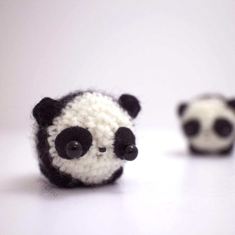 Como fazer o PANDA bola em amigurumi com CLAUDIA STOLF   Vitrine ...   1000x1000
