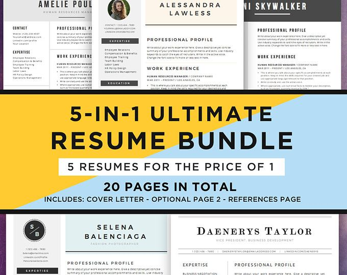 Browse unique items from theResumeMaker on Etsy, a global - browse resumes