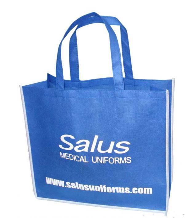 500pcs lot w40xh30xd10cm customized reusable non woven shopping bags