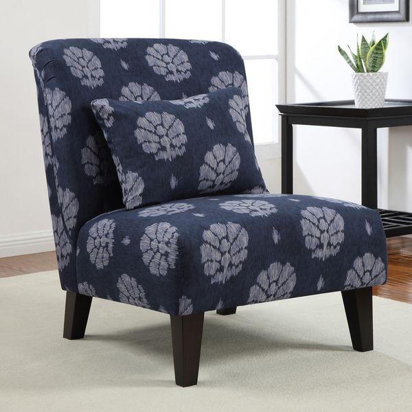 Best Living Room Furniture Deals: Anna Indigo Wash Accent Chair