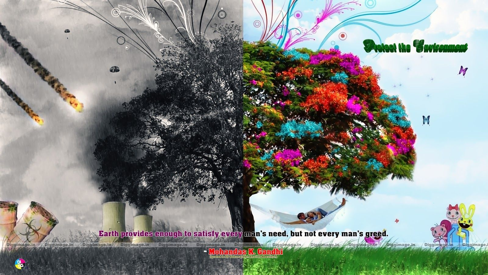 image result for save environment pictures hd collage
