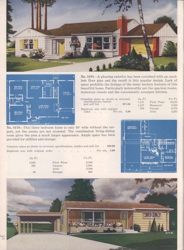 3a63825ea3afc1 Vintage House Plans