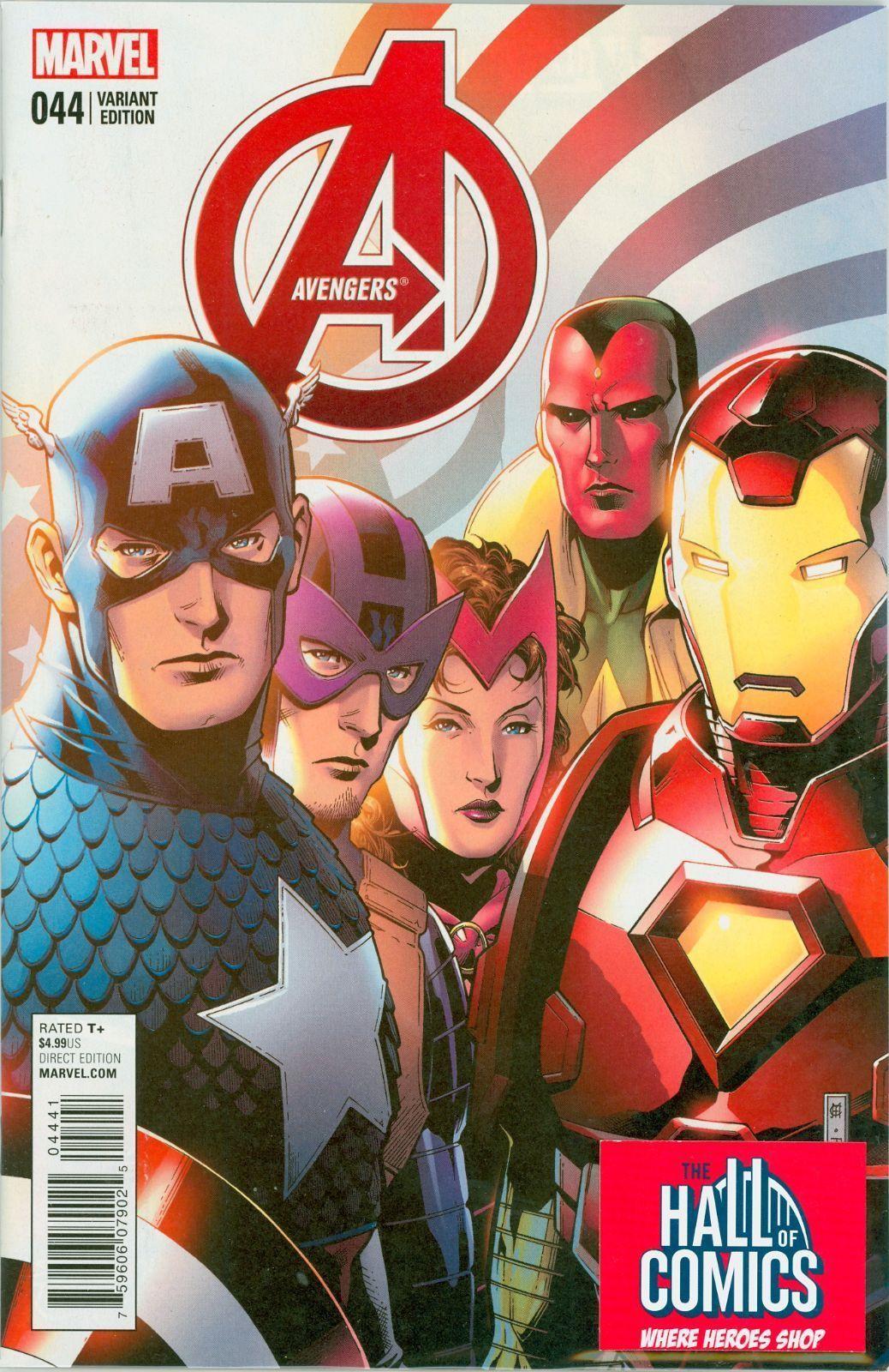 Marvel- Avengers #44 Jim Cheung End of an Era & Tony Harris Variants + Reg Cover