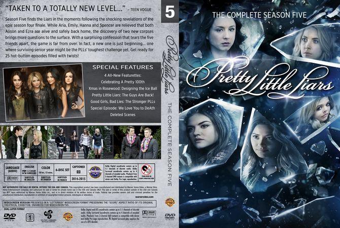 Pretty Little Liars First Book Cover : Pretty little liars season dvd custom cover