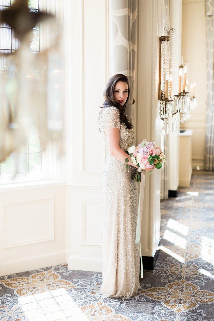Glamorous Wedding Shoot Inspired by Gossip Girl   Glamour ...