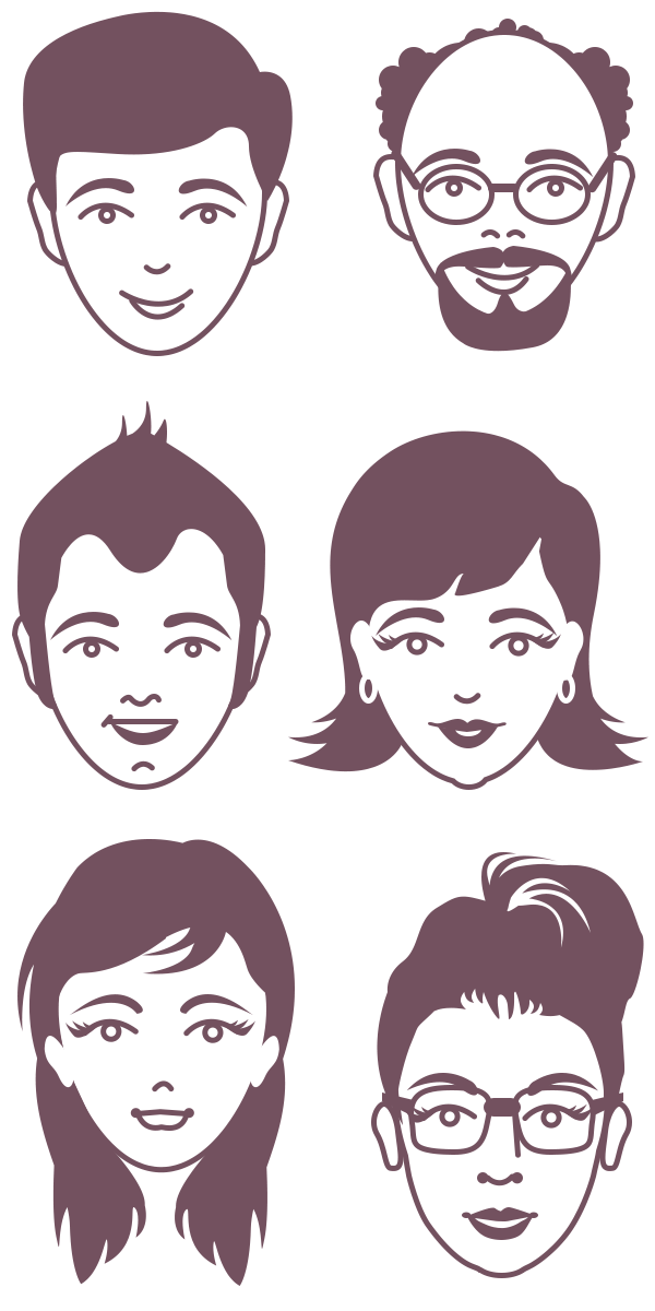 male and female avatar vector faces psd female faces avatar and face rh pinterest com vector facebook logo vector facts